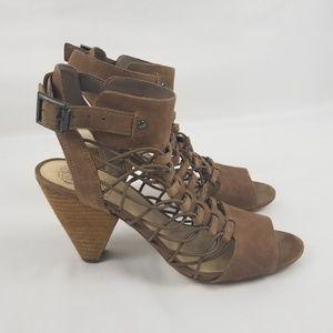 Vince Camuto Women's Size 7 Brown Heel